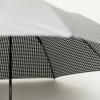 銀行員の日傘は完全遮光で遮熱し約7度も涼しい!折りたたみ[所さんお届けモノです!7月2